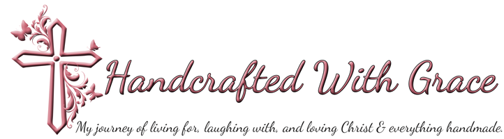 Handcrafted With Grace Logo Banner